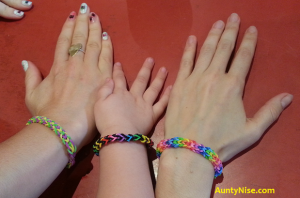 Inverted Fishtail Bracelets on Hands - AuntyNise.com