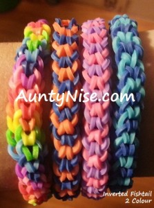 Inverted Fishtail RBL Bracelets (2-Colour) - AuntyNise.com