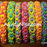 Inverted Fishtail RBL Bracelets (3-Colour_MULTIColour) - AuntyNise.com