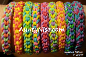 Inverted Fishtail RBL Bracelets (3-Colour_MULTIColour) - AuntyNise.com