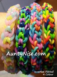Inverted Fishtail RBL Bracelets (4-Colour) - AuntyNise.com