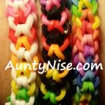 Inverted Fishtail RBL Bracelets (Rainbows) - AuntyNise.com