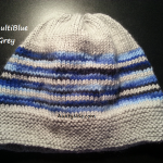 8ply StockinetteSt Hat (MultiBlue+Grey) - AuntyNise.com