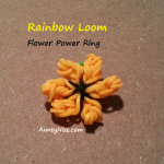 Rainbow Loom FlowerRingFront - AuntyNise.com