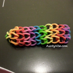 Triple-Single RBL Bracelets (Rainbow Colour) - SIDE - AuntyNise.com