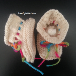 Medieval Booties WHITE - AuntyNise.com