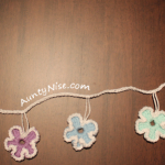 Garland - Flowers - PASTELS - AuntyNise.com