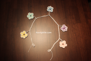 Garland - Flowers (Pentagon) - PASTELS - AuntyNise.com