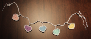 Garland - Hearts - PASTELS - AuntyNise.com