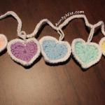 Garland - Hearts - PASTELS (CLOSEUP) - AuntyNise.com