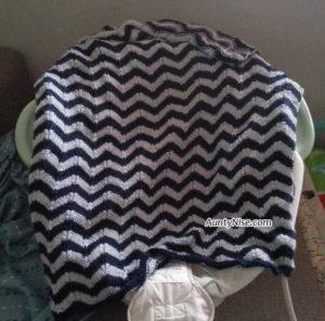 Chevron Baby Blanket - AuntyNise.com